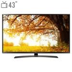 "تلویزیون ال ای دی هوشمند ال جی مدل 43UJ66000GI سایز 43 اینچ   LG 43UJ66000GI Smart LED TV 43"" Inch"