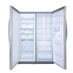یخچال و فریزر دوقلوی هیمالیا مدل Ice Pool نوفراست یخساز Himalia Ice Pool No Frost Refrigerator With Icemaker
