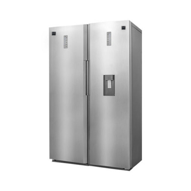 یخچال فریزر دوقلو دوو مدل D2LRF-0020SS Doo twin refrigerator-freezer model D2LRF-0020SS