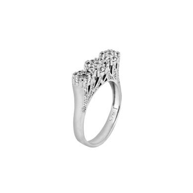 انگشتر نقره زنانه مد و کلاس کد 1000446 Fashion and class women's silver ring code 1000446