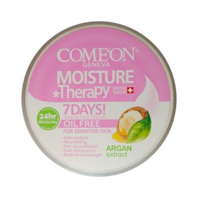کرم مرطوب کننده کامان مدل Argan حجم 240 میلی لیتر comeon Moisturizing Cream oil free 240ml