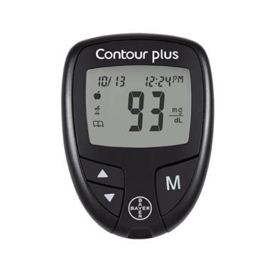 دستگاه تست قند خون بایر مدل Contour Plus Bayer Contour Plus Blood Glucose Meter