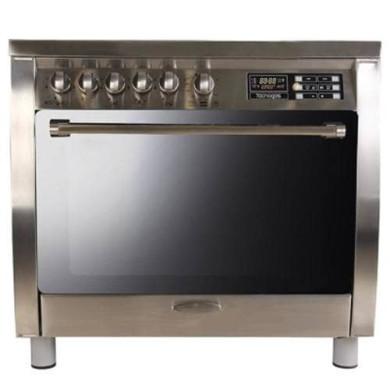 اجاق گاز مبله فر دار تاکنوگاز مدل Tacnogas Free Standing Range SF-SS Furnished gas stove with oven Tacnogas Free Standing Range SF-SS Model