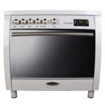 اجاق گاز مبله فر دار تاکنوگاز مدل امپریال Tacnogas Free Standing Range E4-WW  Furnished gas stove with oven Imperial Tacnogas Free Standing Range E4-WW