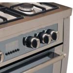 اجاق گاز مبله فر دار تاکنوگاز مدل میلانو - Tacnogas Free Standing Range MIL-524 Furnished gas stove with oven Milan Model - Tacnogas Free Standing Range MIL-524