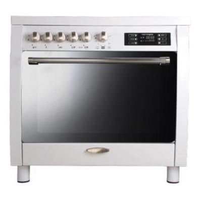 اجاق گاز مبله فر دار تاکنوگاز مدل Tacnogas Free Standing Range SF-WS Furnished gas stove with oven Tacnogas Free Standing Range SF-WS