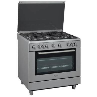 اجاق گاز مبله فر دار ویرپول مدل Whirlpool Free Standing Range ACM 9417/1 IX  Whirlpool oven with stove Whirlpool Free Standing Range ACM 9417/1 IX