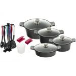 سرویس پخت و پز 18 پارچه تکنو مدل01 Venos Tecno Venus01 Cookware Set 18 Pcs