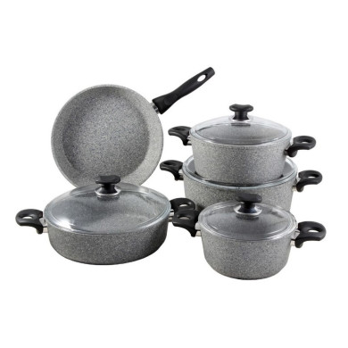 سرویس پخت و پز 9 پارچه زوپینی مدل NG9PC Zopini 9 Pcs Cookware Set Model NG9PC