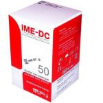 نوار تست قندخون آی ام ای دی سی مدل NGH بسته 50 عددی   IME-DC NGH Glucose Test Strips Pack Of 50