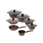 سرویس پخت و پز 12 پارچه زرساب مدل ML-7400 Zarsab ML-7400 Cookware Set 12 Pcs