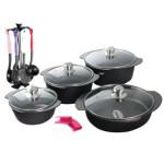 سرویس پخت و پز 17 پارچه رنکارد مدل RAN1117  Rancard RAN1117 Cookware 17 Pcs