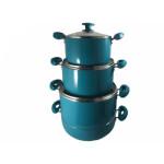 سرویس پخت و پز 7 پارچه وینزو مدل S-cup vinzo S-cup Cookware Set 7 Pieces