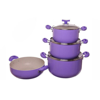 سرویس 7 پارچه پخت و پز فیلون مدل Shiny Filon Shiny Cookware Set 7 Pcs
