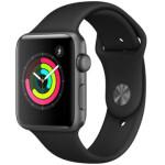ساعت هوشمند اپل واچ 3 مدل 42mm Space Aluminum Case with Sport Band  Apple Watch Series 3 GPS 42mm Space Aluminum Case with Sport Band