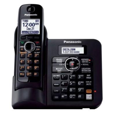 تلفن بی سیم پاناسونیک مدل KX-TG3821BX Panasonic KX-TG3821BX Wireless Phone