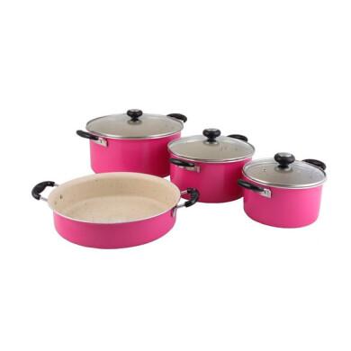 سرویس پخت و پز 7 پارچه پاک کد 600009 Pak 600009 Cookware  Set 7 Pcs