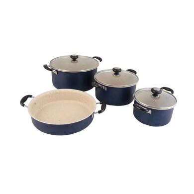سرویس پخت و پز 7 پارچه پاک کد 600006 Pak 600006 Cookware Set 7 Pcs