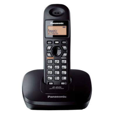 تلفن بی سیم پاناسونیک مدل KX-TG3611BX Panasonic KX-TG3611BX Wireless Phone