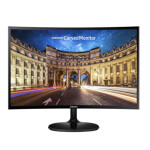 مانیتور سامسونگ مدل C24F390 سایز 24 اینچ  Samsung monitor model C24F390 size 24 inches