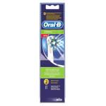 سری یدک مسواک برقی اورال-بی مدل Cross Action بسته 2 عددی  Oral-B electric toothbrush spare series, Cross Action model, 2-piece package