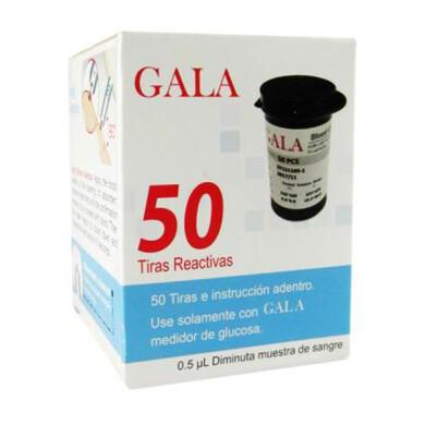 نوار تست قند خون گالا بسته 50 عددی Gala Blood Suger Test Strips