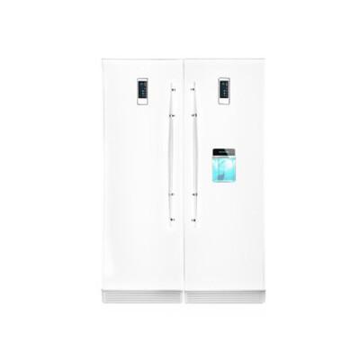 یخچال فریزر دوقلو هیمالیا مدل آیس پول یخساز اتوماتیک سیلور Himalayan Twin Freezer Refrigerator Model Ice Money Silver Automatic Ice Maker