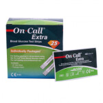نوار تست قندخون ایکان مدلOn.Call Extra OGS-191 Acon On.Call Extra OGS-191 Test Strips