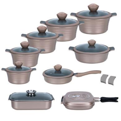 سرویس قابلمه 20 پارچه جی فی نی کد 0004 20-piece pot service, GFN code 0004