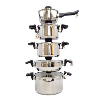 سرویس قابلمه 10 پارچه کارل اشمیت سان مدل 007 10-piece pot service Carl Schmidt Sun Model 007