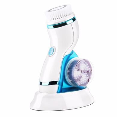 فیس براش و برس پاکسازی صورت 4 کاره مدل 8286 Face brush and brush for cleaning 4-function face, model 8286