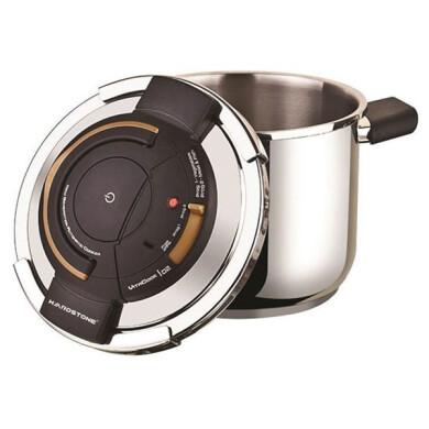 زودپز 6.5 لیتر روگازی هاردستون مدل SPC6501 6.5 liter  On the stove hardstone pressure cooker model SPC6501