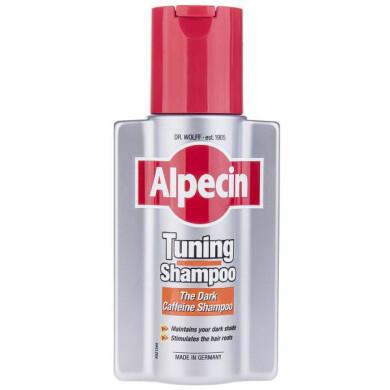 شامپو کاهش موهای سفید آلپسین مدل تیونینگ Alpecin Tuning Shampoo 200ml