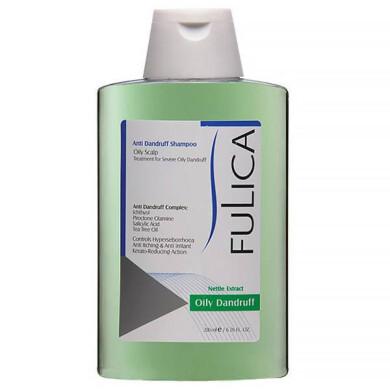 شامپو ضد شوره فولیکا مخصوص موهای چرب حجم 200 میلی لیتر Fulica Anti Dandruff Shampoo For Oily Hair 200ml