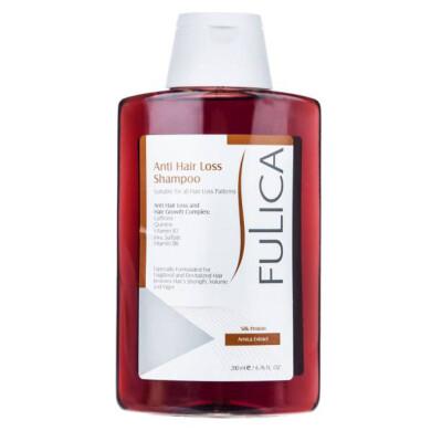 شامپو تقویت کننده و ضد ریزش مو فولیکا حجم 200 میلی لیتر Fulica Anti Hair Loss Shampoo 200ml
