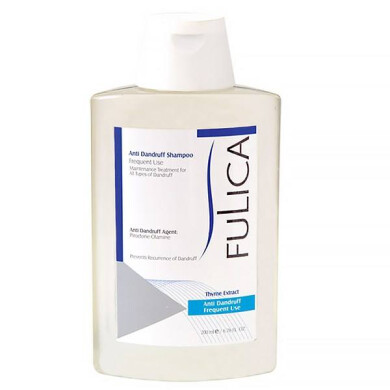 شامپو ضد شوره فولیکا جهت مصرف روزانه حجم 200 میلی لیتر Fulica Anti Dandruff Shampoo For Daily Use 200ml