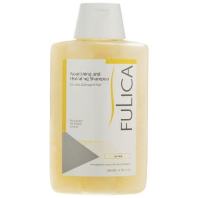 شامپو فولیکا مخصوص موهای خشک و آسیب دیده حجم 200 میلی لیتر Fulica Nourishing And Hydrating Shampoo For Dry And Damaged Hair 200ml