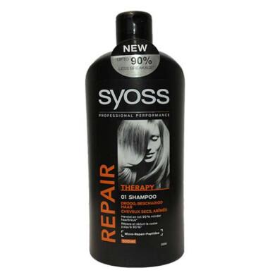 شامپو مو سایوس مدلRepair حجم 500 میلی لیتر Syoss Repair Shampoo 500ml