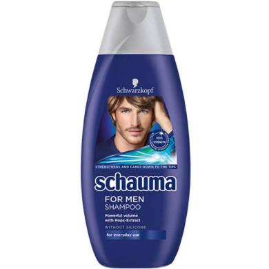 شامپو مردانه شاوما مدل Mint Fresh حجم 400 میلی لیتر Schauma Mint Fresh Shampoo For Men 400ml