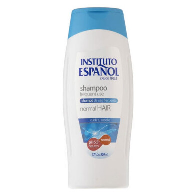 شامپو مو انستیتو اسپانول مدل Normal حجم 500 میلی لیتر Instituto Espanol Normal Hair Shampoo 500 ml