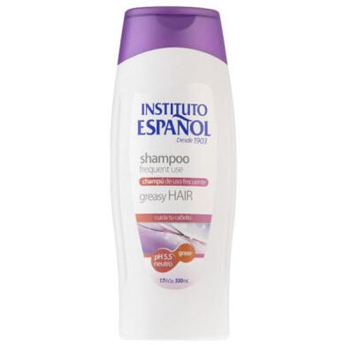 شامپو مو انستیتو اسپانول مدل Graso حجم 500 میلی لیتر Instituto Espanol Graso Hair Shampoo 500 ml