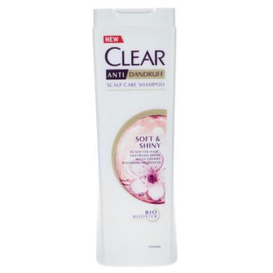 شامپو مو ضد شوره کلیر مدل Soft And Shiny حجم 400 میلی لیتر Clear Soft And Shiny Dandruff Hair Shampoo 400ml
