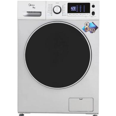 ماشین لباسشویی درب از جلو میدیا مدل Midea WU-24815-8Kg Front door washing machine media Model Midea WU-24815-8Kg