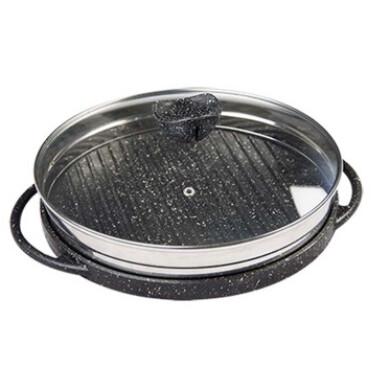 تابه چدن گریل دو طرفه نالینو مدل Spiza سایز 28 Cast iron grill pan spiza model size 28