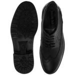 کفش مردانه چرم نوین تبریز مدل هشت ترک کد200S-102 سایز 40 Men's new leather shoes in Tabriz, model eight, code 200 S-102