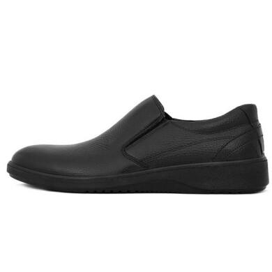 کفش مردانه چرم نوین تبریز مدل سیلور کد 200S-103 سایز 40 New leather shoes for men, Tabriz, Silver model, code 200S-103, size 40
