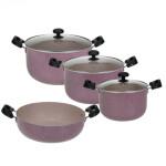 سرویس پخت و پز 7 پارچه مدل ویونا Viona Set Pot 7 Pcs