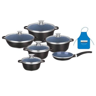 سرویس پخت و پز 11 پارچه فورته مدل آنجلا Forte Cookware Set Angela Model 11 Pcs