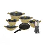 سرویس پخت و پز 18 پارچه فورته مدل اسکار پلاس Forte Cookware Set Oscar+ Model 18 Pcs