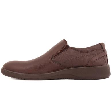 کفش مردانه چرم نوین تبریز مدل سیلور کد 200S-103 سایز 43 New leather shoes for men, Tabriz, Silver model, code 200S-103, size 43